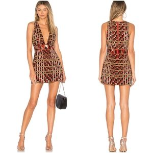 RARE X by NBD Haim Dress in Digital Heat $728